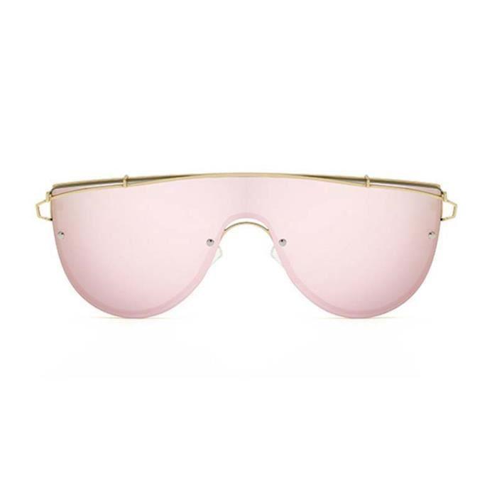 Solaires UV400 Lunettes Soleil Métal 2 Unisexe Femme Rose Homme en Nouveau Voyager pour Monture Sunglasses Conduire Lunettes de Y0wyECPq