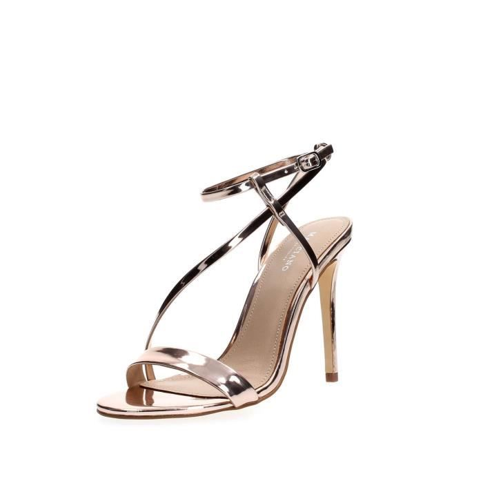GUESS BY MARCIANO DES SANDALES Femme Rosa, 39