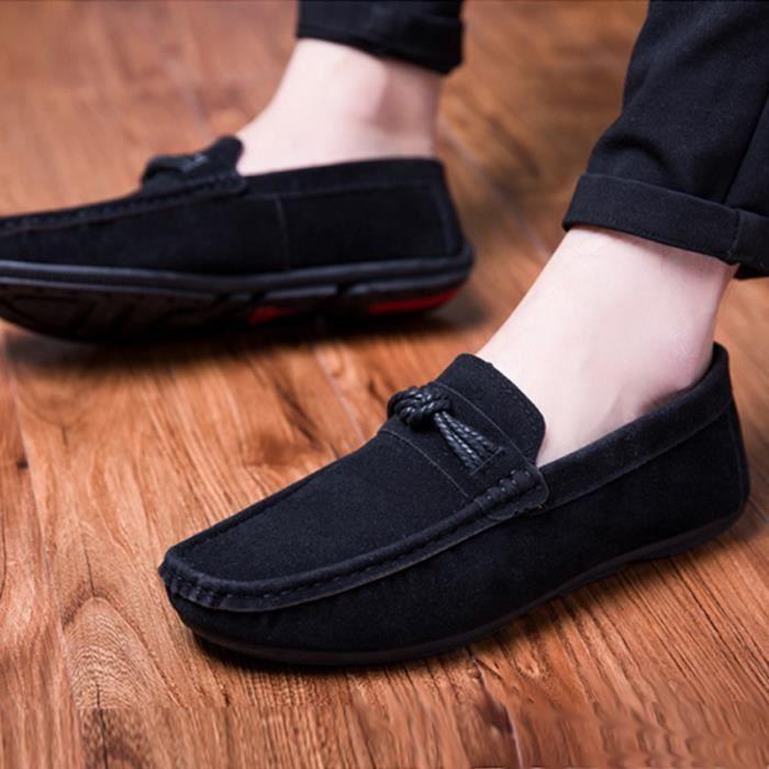 Hommes Chaussures xz278noir39 Moccasin De Ville Confortable Homme Chaussure Mode Wys KJcTF1l3