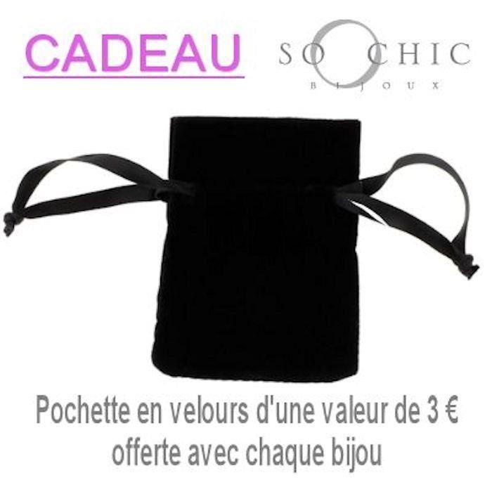 Bracelet Femme 18 cm Carrés Froissés Plaqué Or