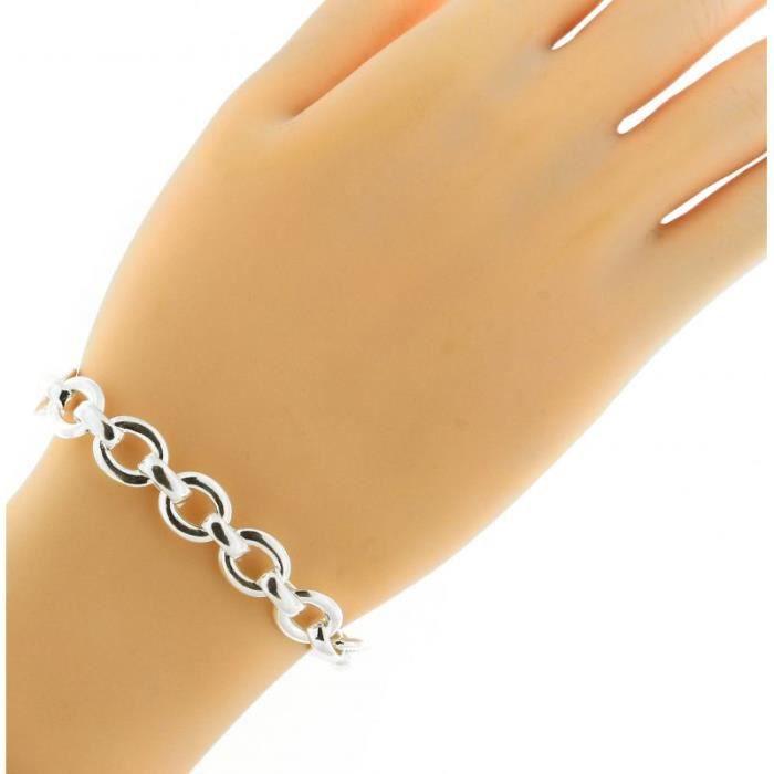 Bracelet Argent 925 ref 43859 Blanc