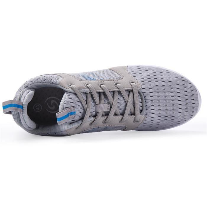 Basket Homme Ultra Comfortable Occasionnelles Chaussure JXG-XZ011Gris-44 VIx8JKdKg4