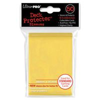 CARTE A COLLECTIONNER Ultra Pro 50 pochettes Deck Protector Solid Jaune