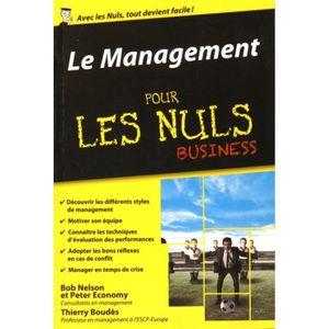 LIVRE MANAGEMENT Le management pour les nuls business