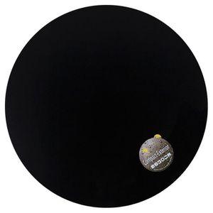 PLATEAU DE TABLE Plateau de table 'PLANO' rond Ø 60cm noir en ré...