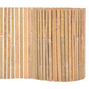 Cloture jardin bambou - Achat / Vente pas cher
