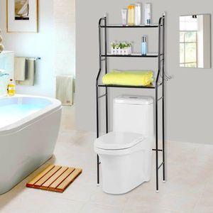 COLONNE - ARMOIRE WC Etagère de WC salle de bains toilette meuble dessu