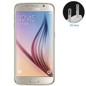 Téléphone portable Samsung Galaxy S6 6290 32Go Or Téléphone