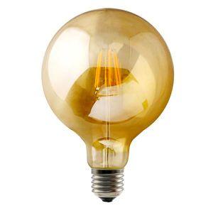 AMPOULE - LED Ampoule LED Filament Vintage 9w,forme ballon, avec