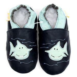 CHAUSSON - PANTOUFLE Cuir bébé mocassins chaussures pour bébés animaux