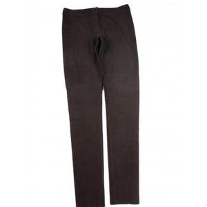 Pantalon FENDI W31 (T 40-42) Noir en Cuir Noir Noir - Achat   Vente ... 26bd173b7ebf