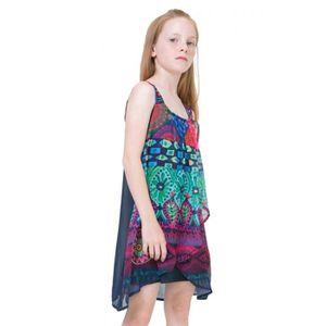 fa46b0e1c1418 Robe Desigual enfant - Achat   Vente pas cher - Soldes  dès le 9 ...