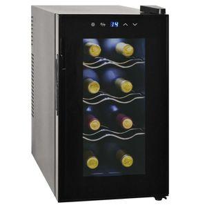 CAVE À VIN Frigo à vin 25 L 8 bouteilles Affichage LCD Cave à