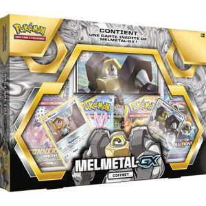 CARTES DE JEU POKEMON - Coffret Pokémon MELMETAL GX - 4 Boosters