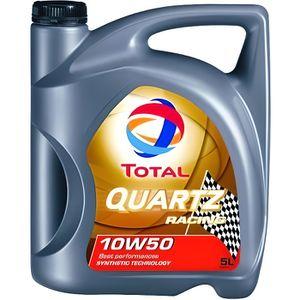 HUILE MOTEUR TOTAL Quartz Racing 10W50 - Conditionnement - B...
