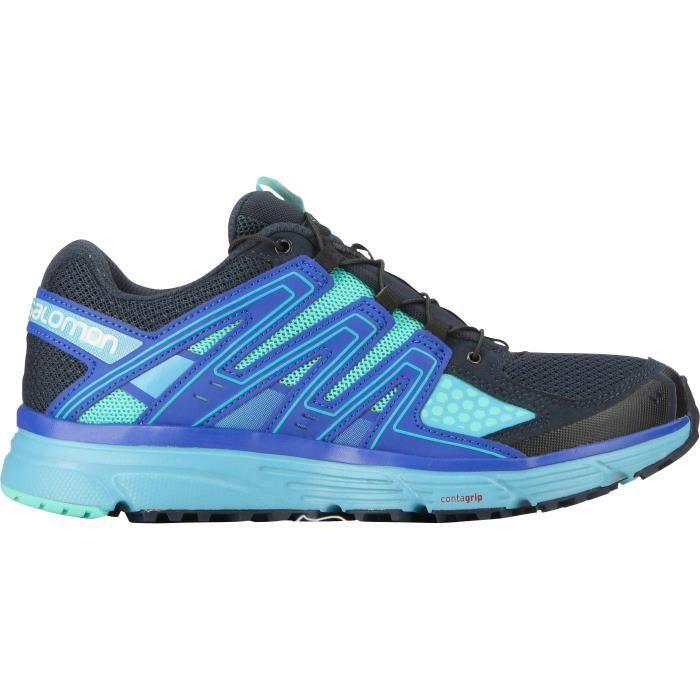 SALOMON Chaussures Running Femme X-Mission W - Noir BleutéCHAUSSURES DE RUNNING - CHAUSSURES D'ATHLETISME