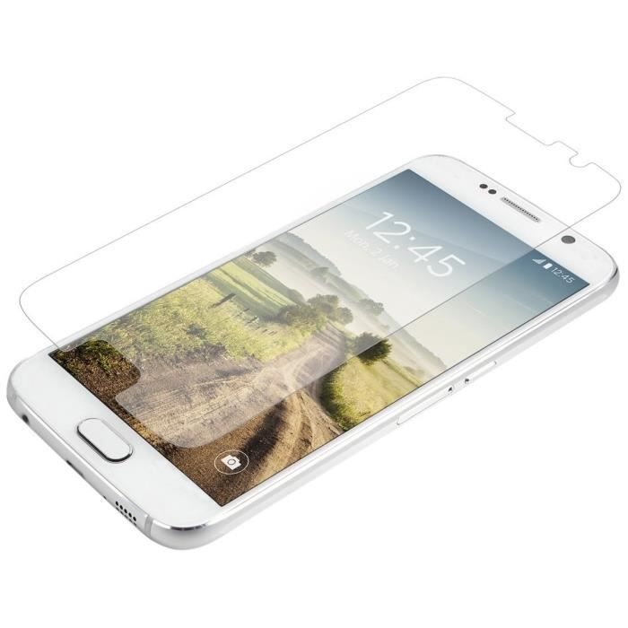 ZAGG Invisibleshield Glass Screen Protection d'écran - Compatible Samsung Galaxy S6 - Transparent