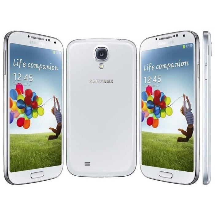 SMARTPHONE Blanc pour Samsung Galaxy S4 i9500 16GB occasion d