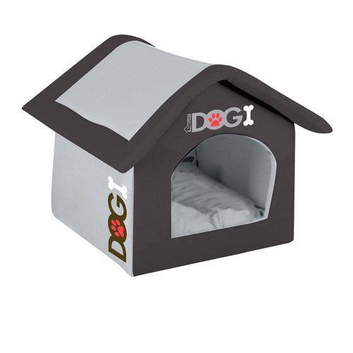 Niche d\'intérieur pour chien Dogi - Taille S - Noir - Achat / Vente ...
