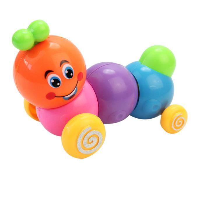 jouet chenille pour b b enfant jeu d 39 veil ducatif color plastique toys achat vente jouet. Black Bedroom Furniture Sets. Home Design Ideas