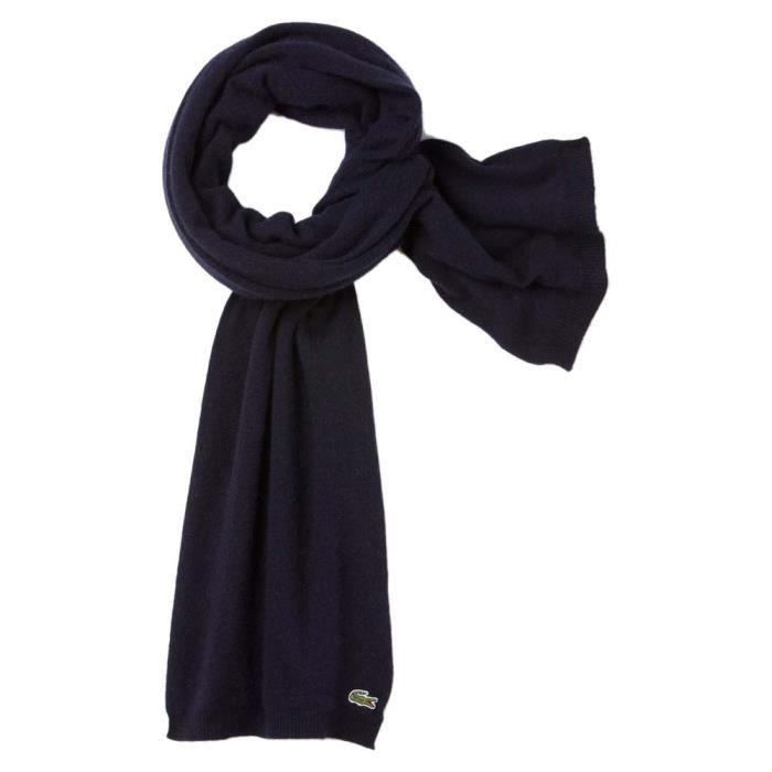 9b7c81118b Echarpes Lacoste Re4211166 Scarves - Achat / Vente echarpe - foulard ...