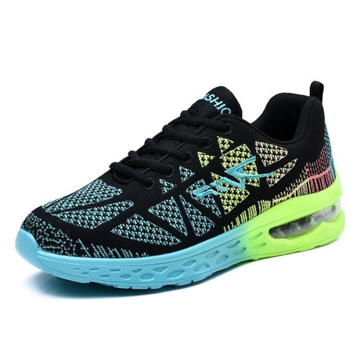 Chaussures de course pour hommes nouveaux Chaussures de sport respirantes à mailles ZjHfkO4Te