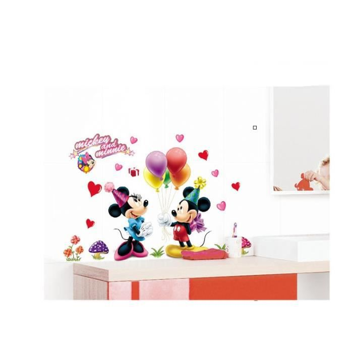Affordable mickey minnie cartoon mur salle de d with for Deco chambre minnie