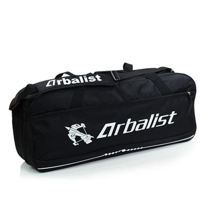 NOIR Badminton sac 6 installé, épaule sac de sport, multi-usages étanche à l'eau, sacs antipoussière de raquette
