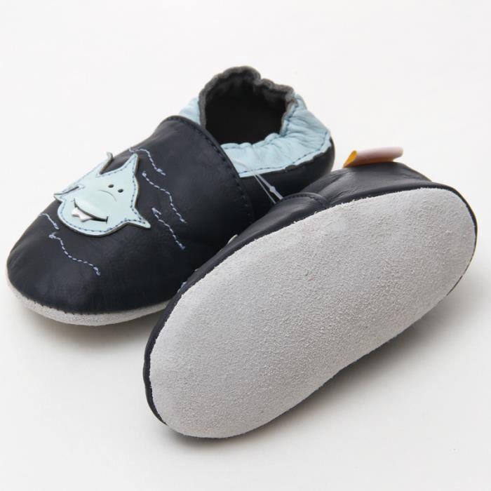 Cuir bébé mocassins chaussures pour bébés animaux bébé garçon chaussures 7uqXdeeotf