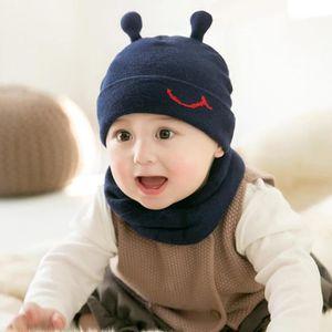 2bfb369c90e3 ... BONNET - CAGOULE MOGOI Bonnet bébé tricot chapeau hiver doux avec É. ‹›