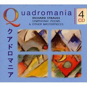 CD MUSIQUE CLASSIQUE QUADROMANIA : Richard Strauss, Symphonic poems & o