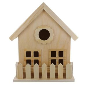 LA FOURMI Mini maison en bois 18x14x19,6cm
