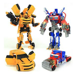 POUPÉE Lot de 2 Transformateurs Optimus Prime, Bumblebee,