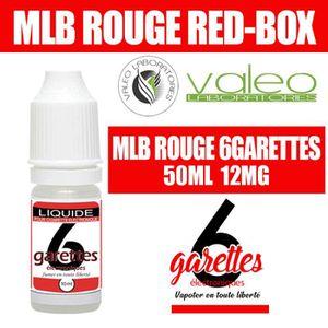 LIQUIDE E LIQUIDE 50ML – TABAC MLB 12mg DE NICOTINE - 6GAR