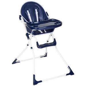 CHAISE HAUTE  Chaise haute de bébé pour enfants grand confort bl