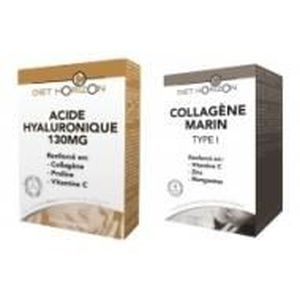 BEAUTÉ DE LA PEAU 2 Produits - Duo Acide Hyaluronique et Collagèn…