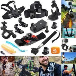 CAMÉRA MINIATURE 12 en 1 kit d'accessoires pour GoPro Hero