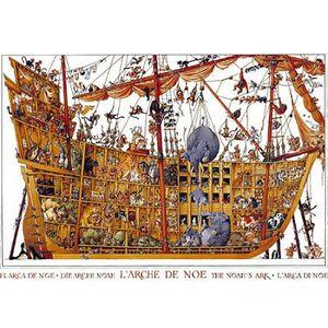 PUZZLE MERCIER Puzzle 2000 pièces Arche Noah - 68,8 x 96,