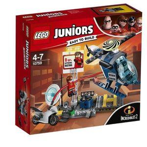ASSEMBLAGE CONSTRUCTION LEGO® Juniors The Incredibles II 10759 La Poursuit