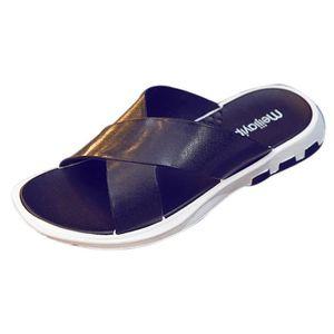 Mode Plage Pantoufle Flip Flop Hommes Casual Chaussures Été Sapatos Hembre Sapatenis @XYM80308906BK xv8Ag4fPcI