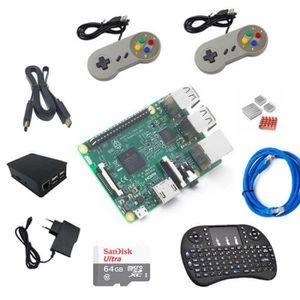 PC ASSEMBLÉ Raspberry Pi 3 Complete Starter Kit + 2 morceaux d