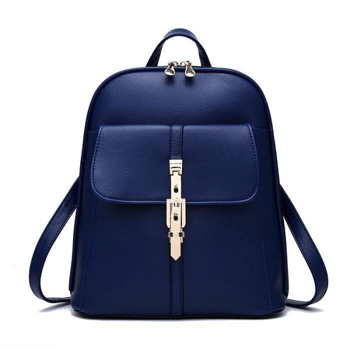 sac à main femm Sac Femme De Marque De Luxe En Cuir de marque pour femme bleu Nouvelle mode Haut qualité