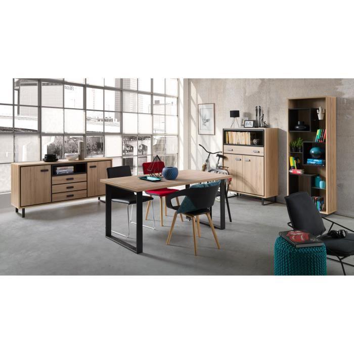 ensemble salle a manger buffet achat vente pas cher. Black Bedroom Furniture Sets. Home Design Ideas