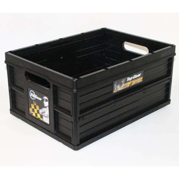 PETIT RANGEMENT  Casier Pliant - Rangement pour voiture TOP GEAR