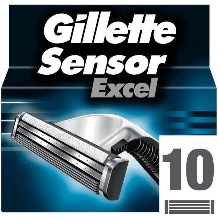 LAME DE RASOIR SEULE GILLETTE Lames Sensor Excel X10