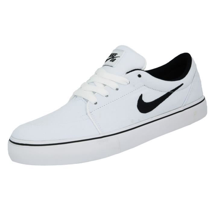 c01202946ff Nike SATIRE CANVAS Chaussures Sneakers Mode Homme Blanc Blanc ...