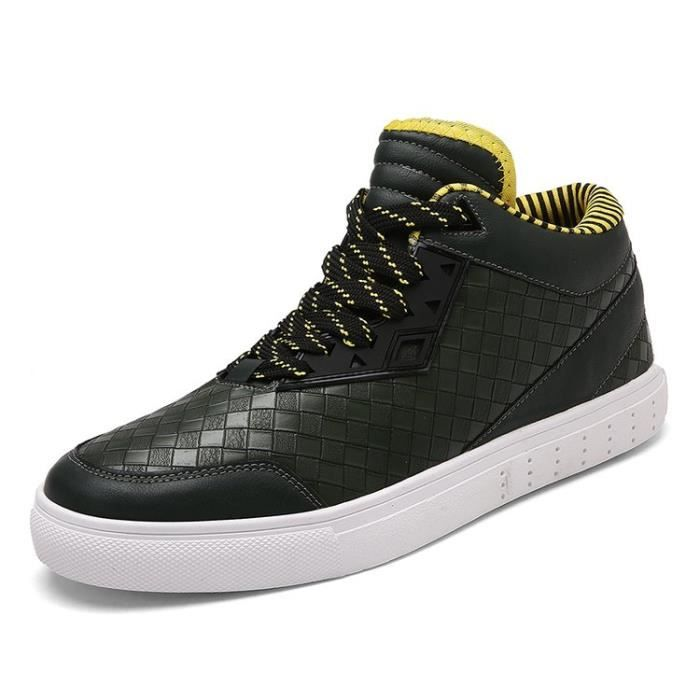 chaussures montantes Mode Chaussure Homme Basket Homme Skate Shoes 670Hj