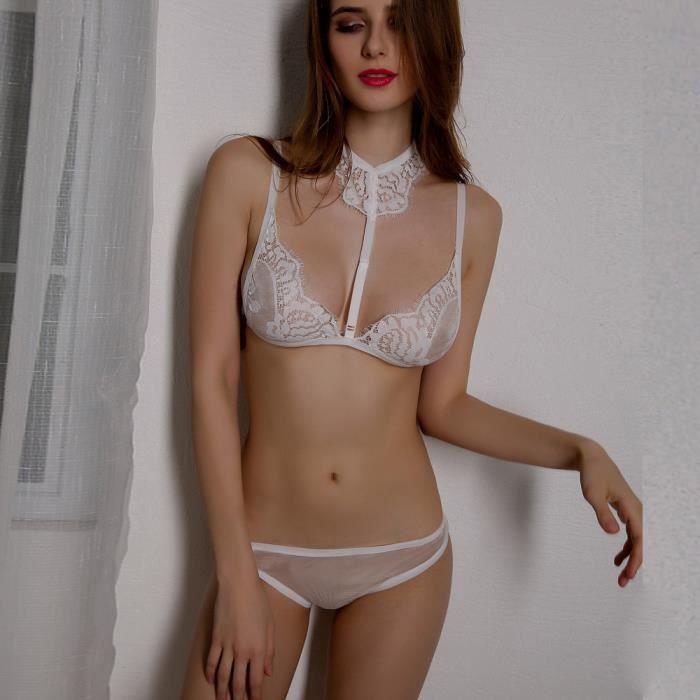 blanc Dentelle Robe Notte L G De Lingerie Nuit string vêtements Babydoll Sexy Sous Femmes wIXB7OqI8