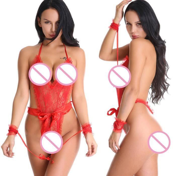 G-string Sex Attractive Teddy Sous-vêtements Body Dentelle Vêtements de  nuit SYQ 2967 943494092bd