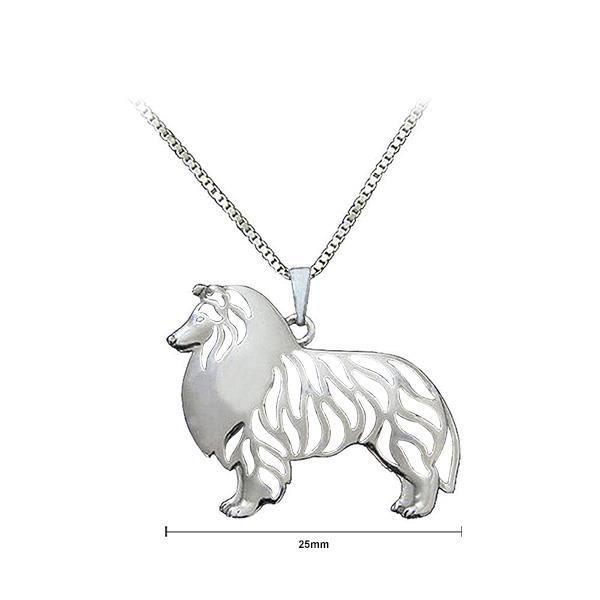 Glamorousky Shepherd Fashion Pendentif avec collier (23994)